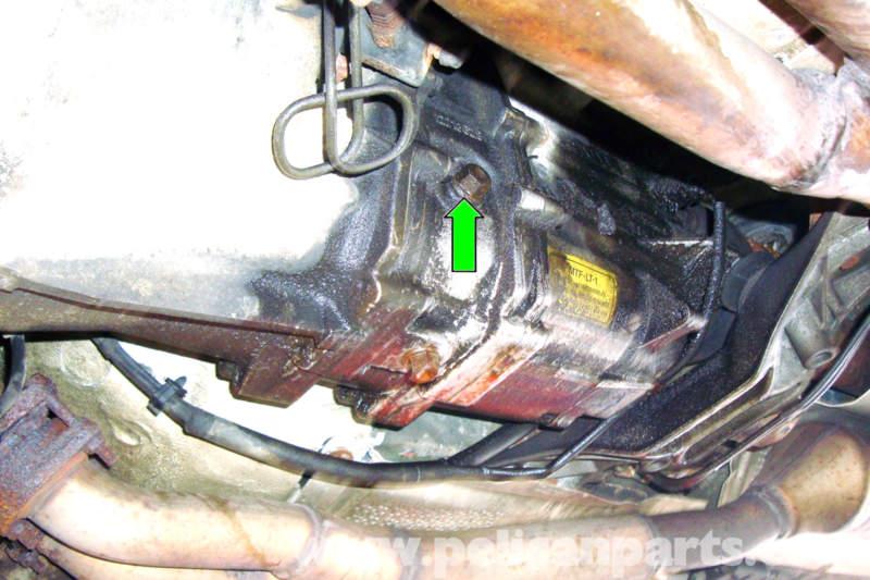 Bmw E39 5 Series Manual Transmission Fluid Change 1997