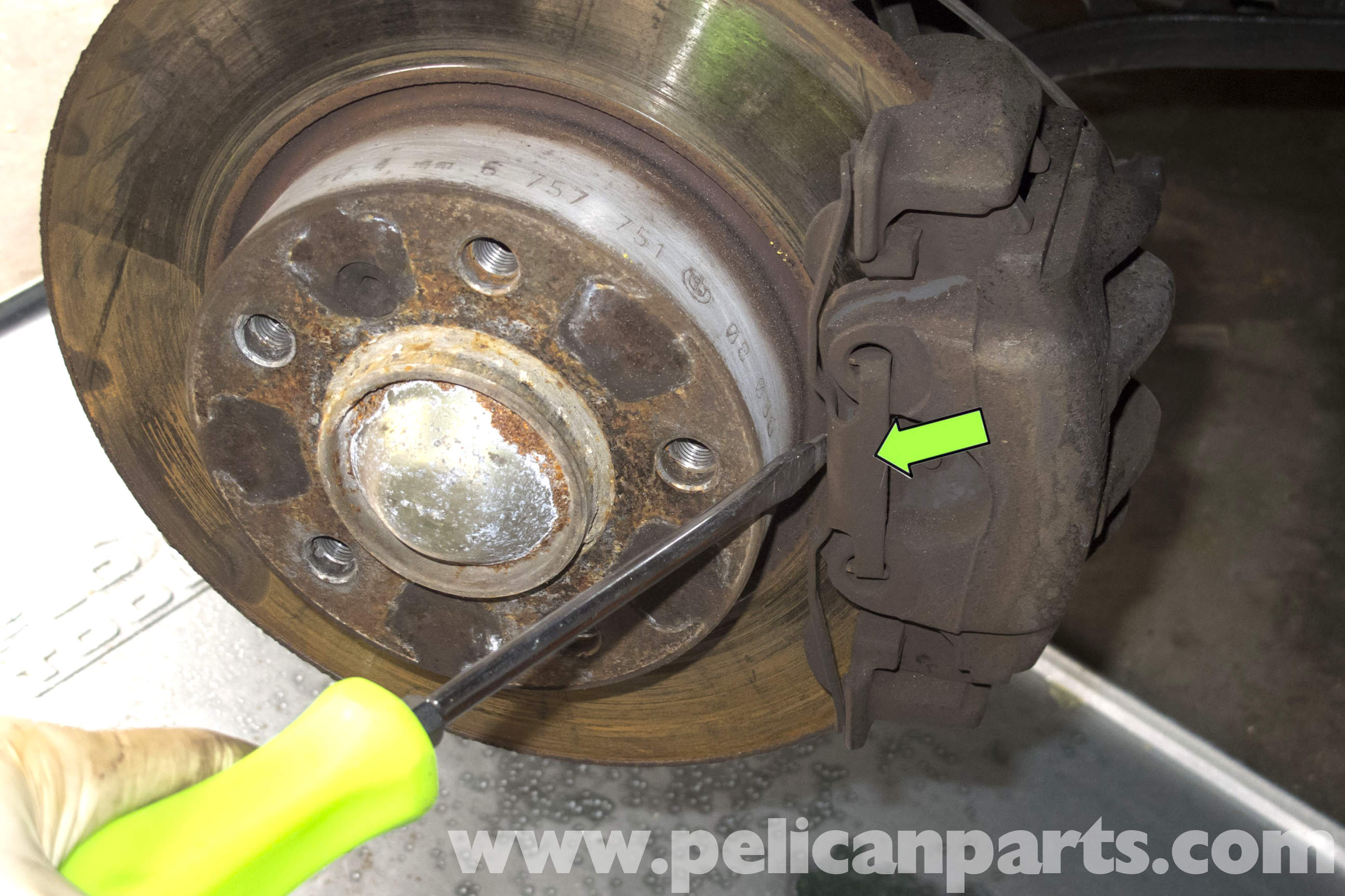 Bmw Z3 Brake Pad Replacement 1996 2002 Pelican Parts