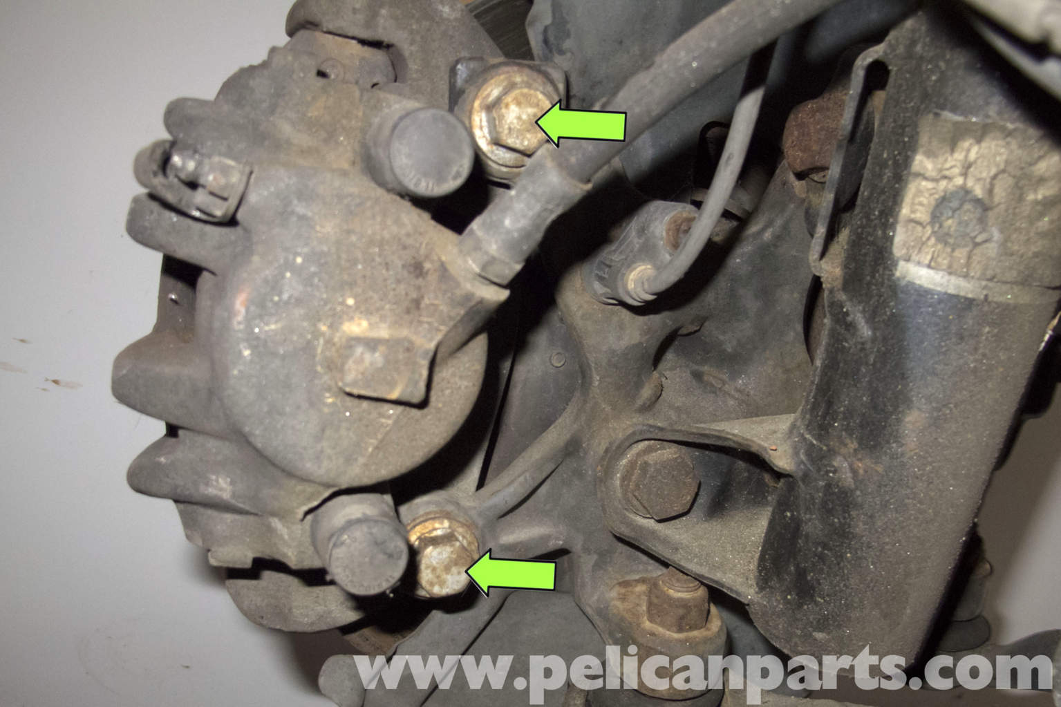 Bmw Z3 Brake Rotor Replacement 1996 2002 Pelican Parts Diy Maintenance Article