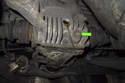 Next, using a 14mm Allen bit remove differential oil drain plug.