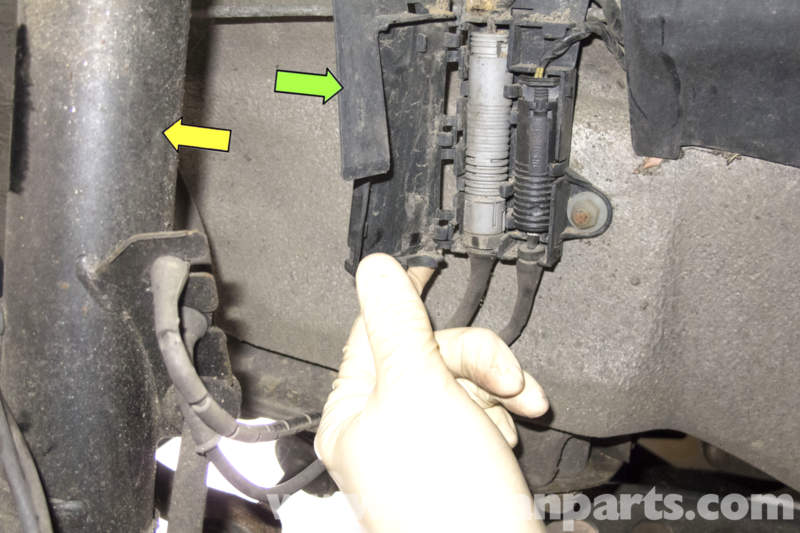 Bmw Z3 Wheel Speed Sensor Replacement 1996 2002