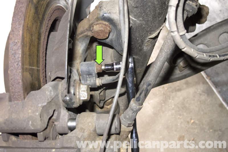 BMW Z3 Wheel Speed Sensor Replacement 1996 2002