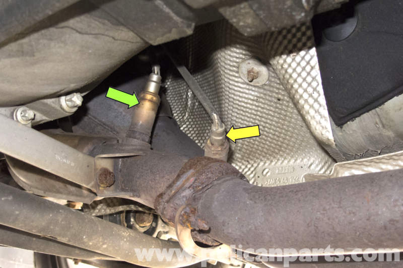 Bmw Z3 Oxygen Sensor Replacement 1996 2002 Pelican Parts Diy Maintenance Article