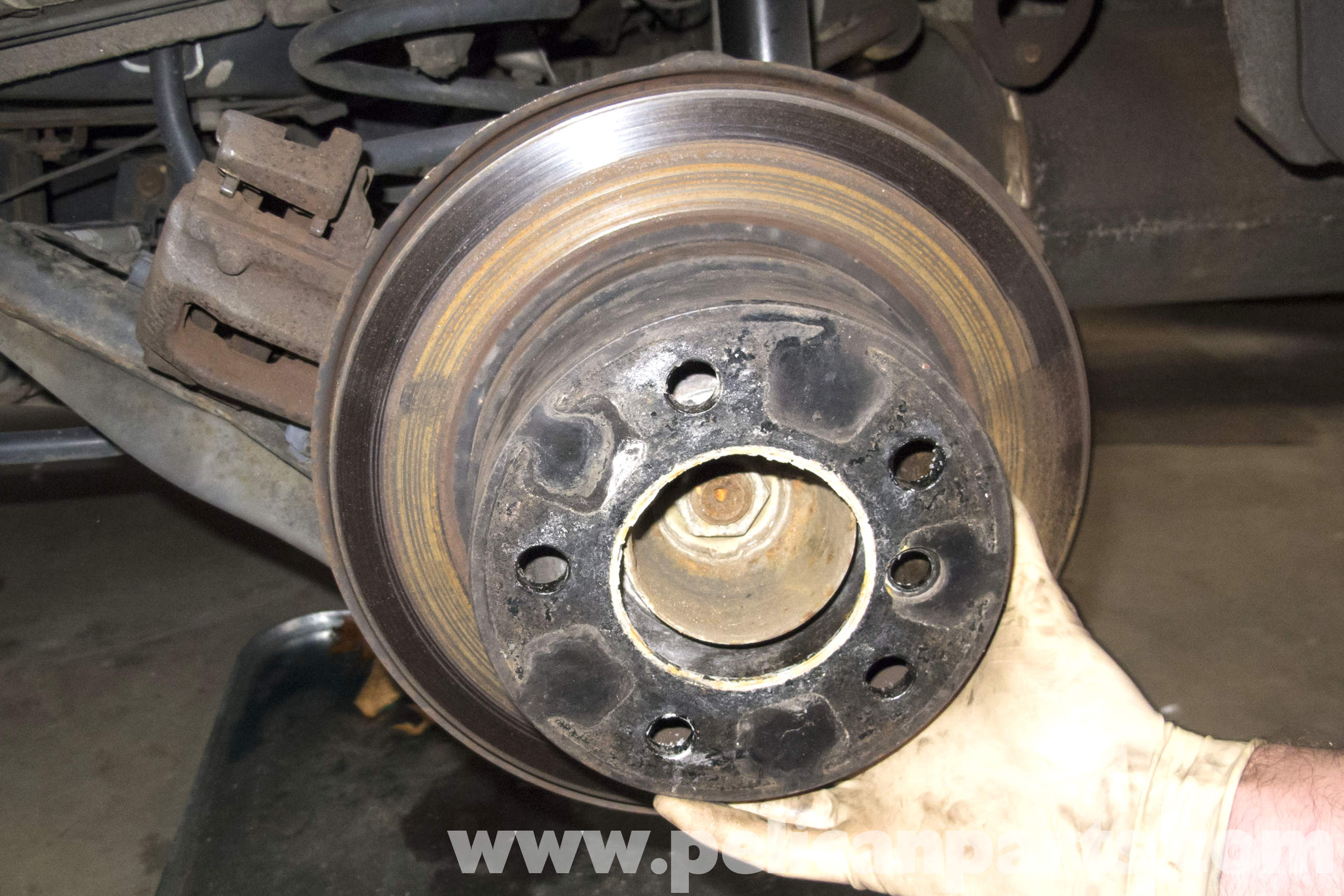 Bmw Z3 Parking Brake Shoes Replacement 1996 2002
