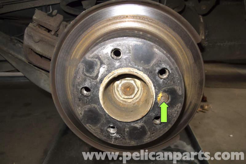Bmw Z3 Parking Brake Shoes Replacement 1996 2002 Pelican Parts Diy Maintenance Article