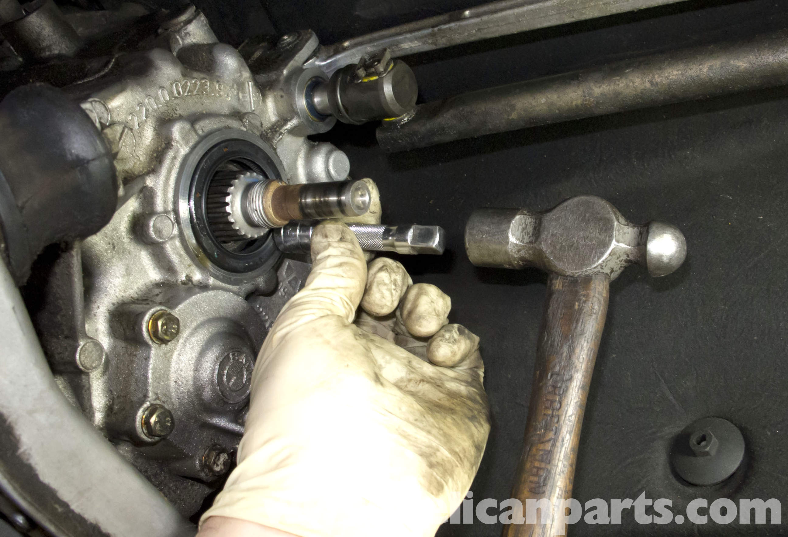 Bmw Z3 Manual Transmission Output Shaft Seal Replacement