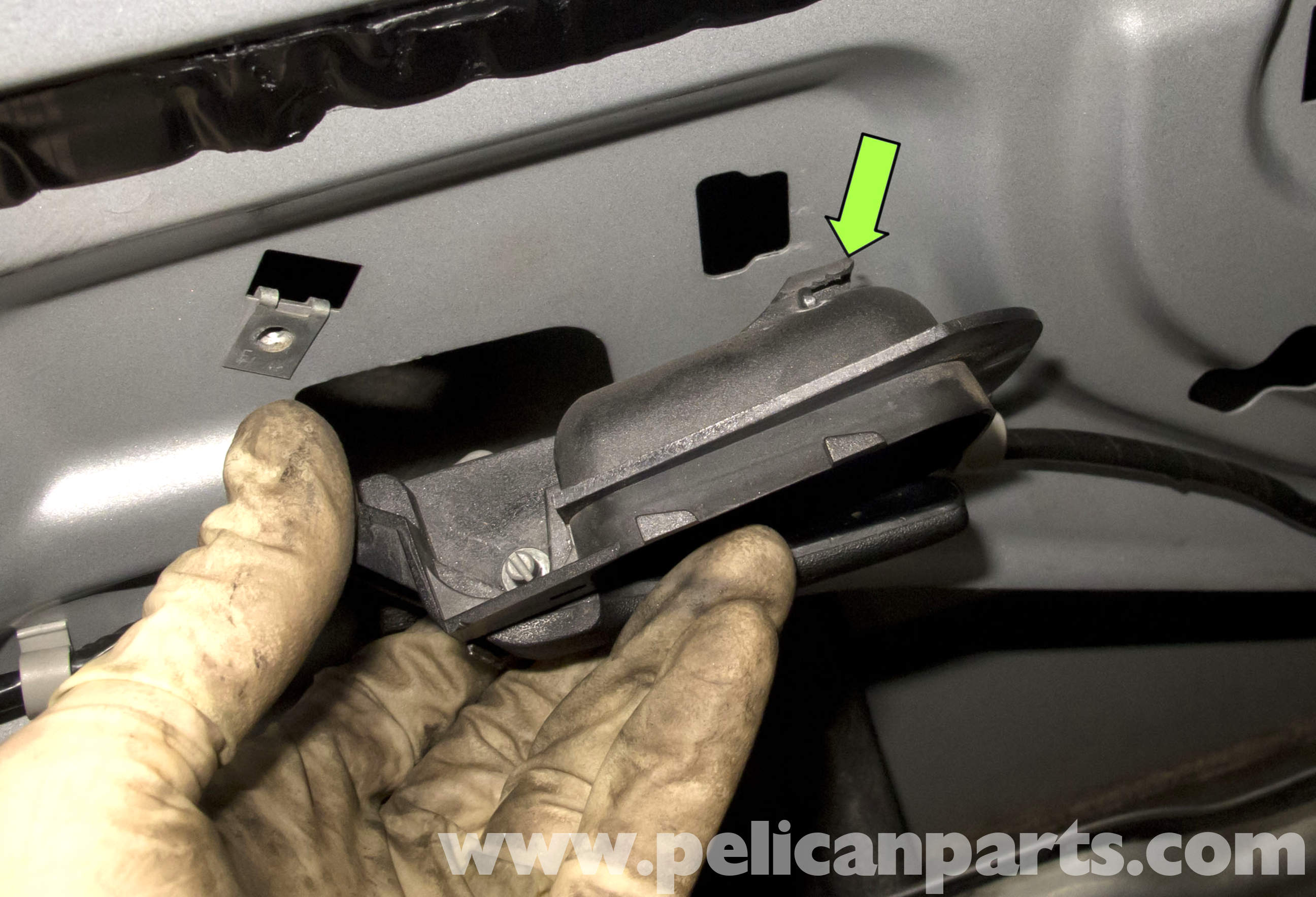 Bmw Z3 Door Latch Replacement 1996 2002 Pelican Parts Diy In Order To Remove The Assembly And Or Ajar Switch Large Image Extra