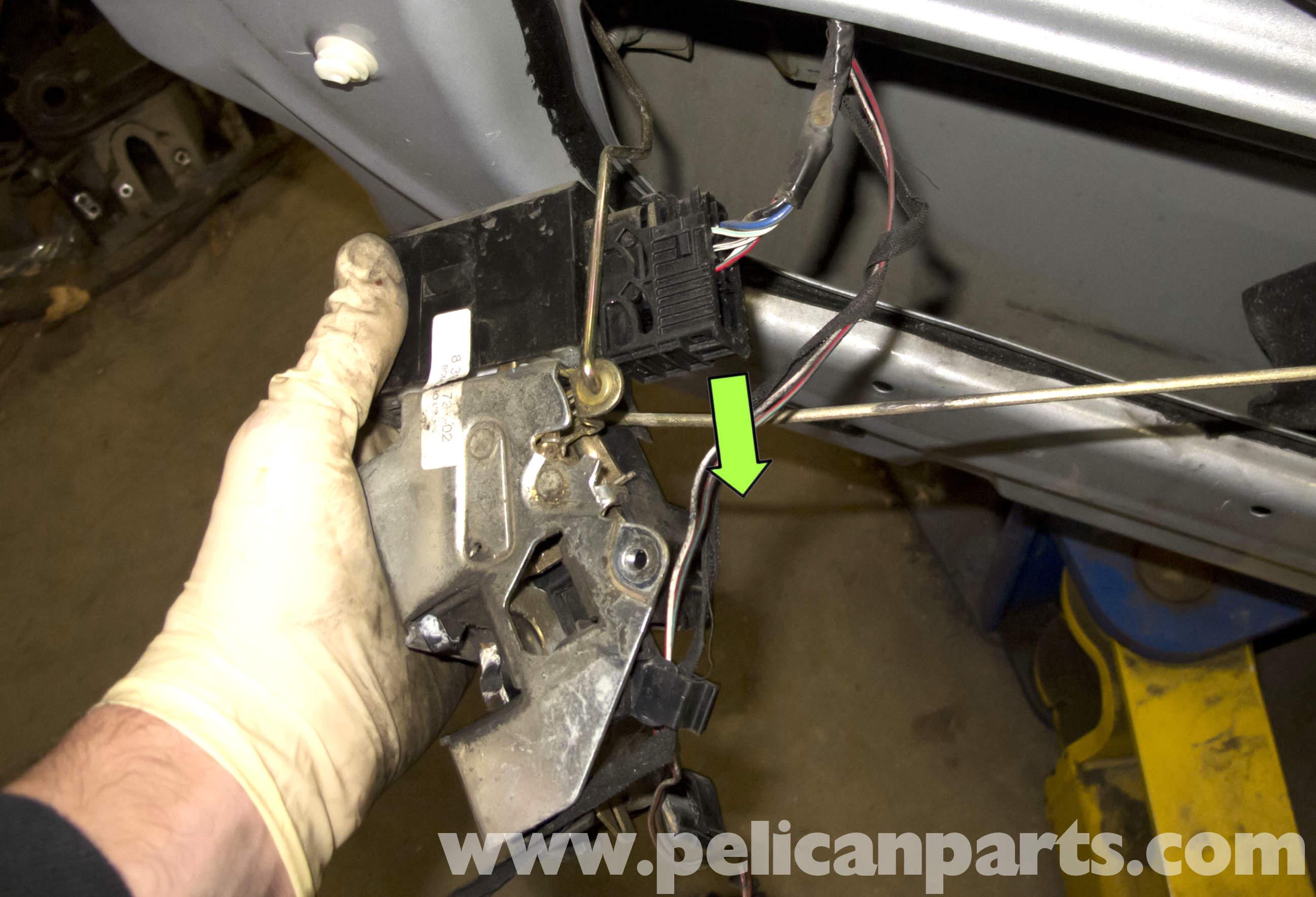 Bmw Z3 Door Latch Replacement 1996 2002 Pelican Parts