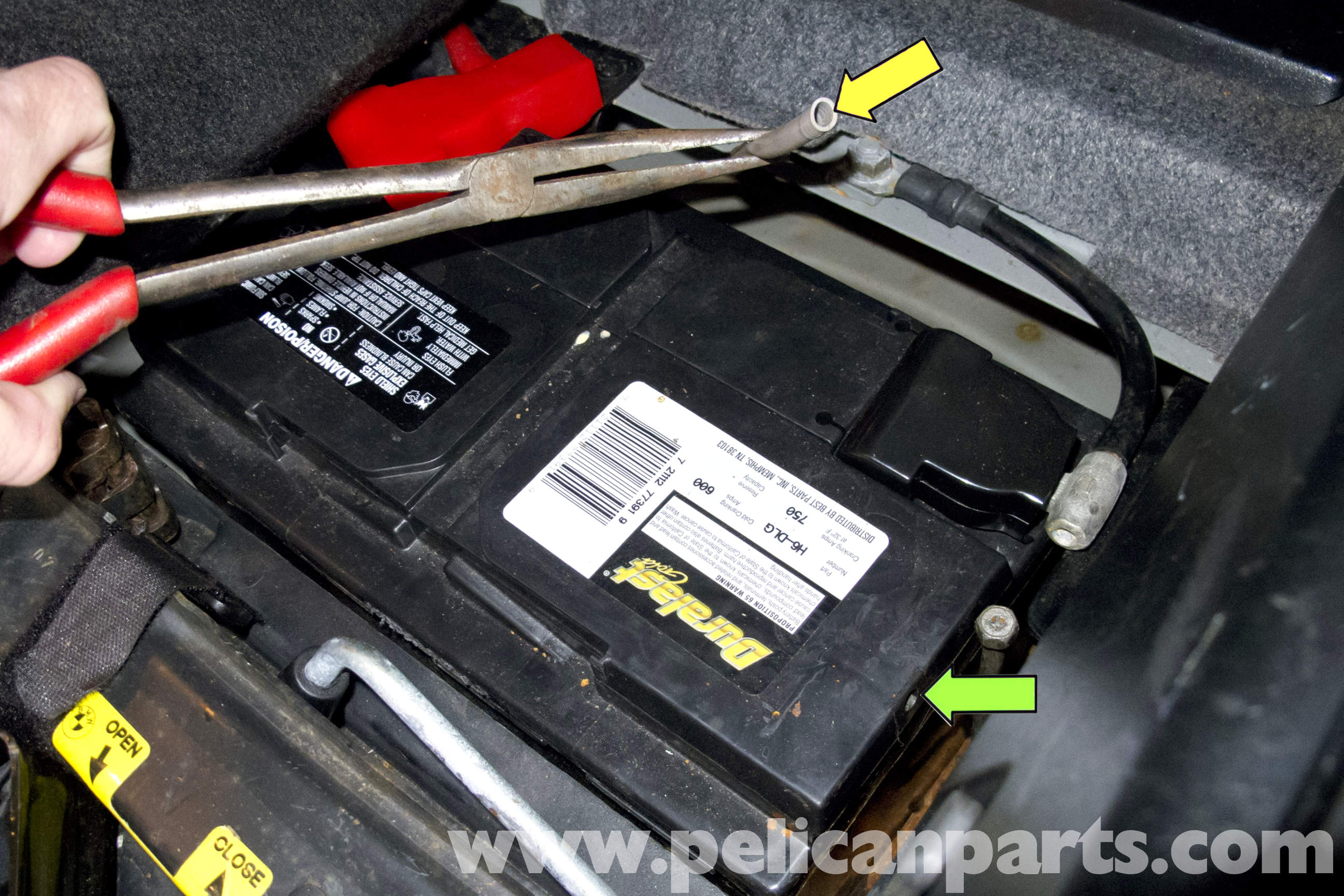 Bmw Z3 Battery Replacement And Connection Notes 1996 2002 Pelican Parts Diy Maintenance Article