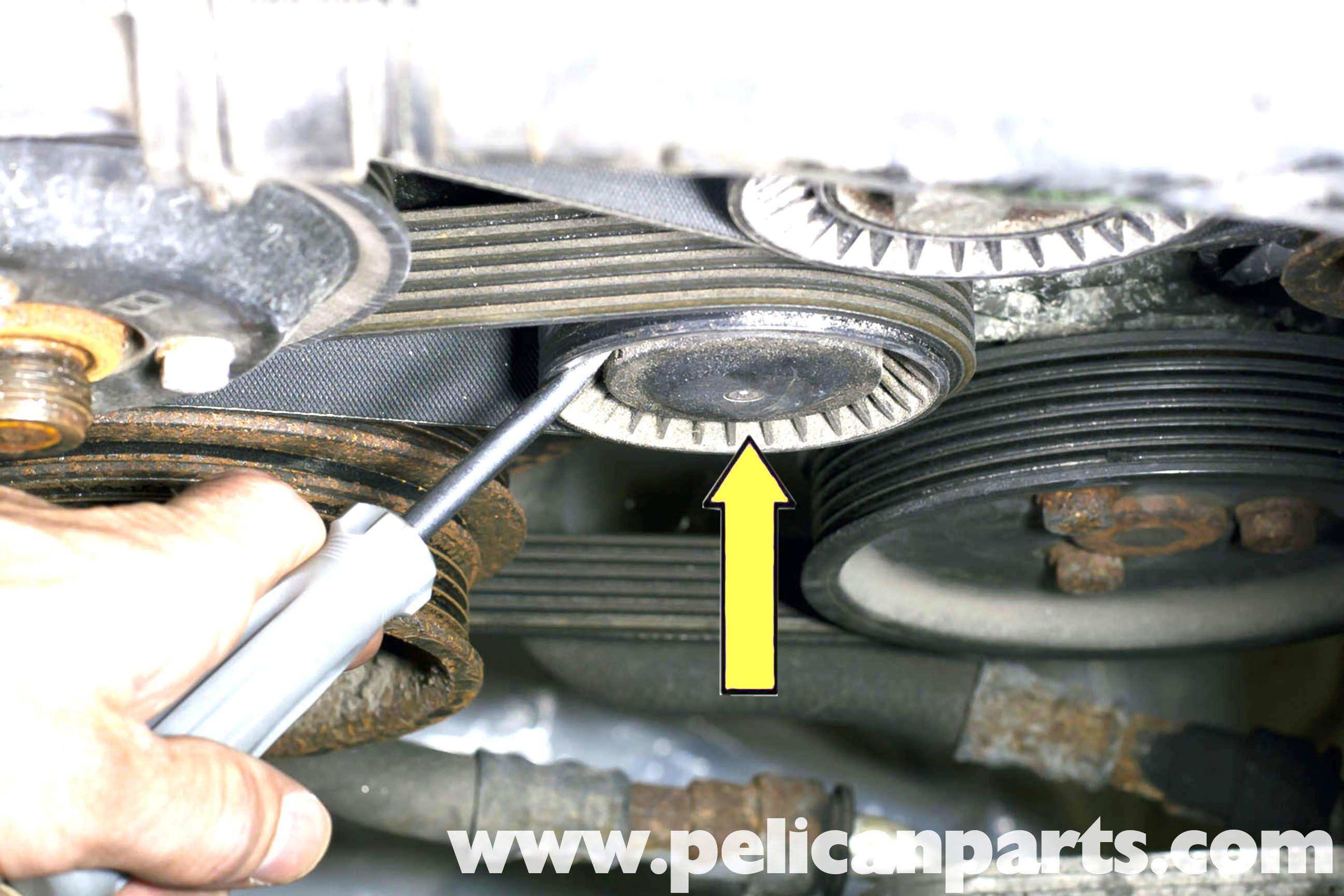 Bmw Z3 Drive Belt Replacement 1996 2002 Pelican Parts Diy Maintenance Article