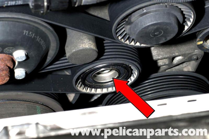 Bmw Z3 Drive Belt Replacement 1996 2002 Pelican Parts