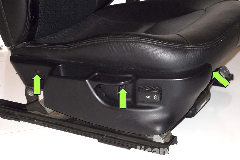 Bmw Seats Replacement : Bmw z passenger seat occupancy mat sensor replacement