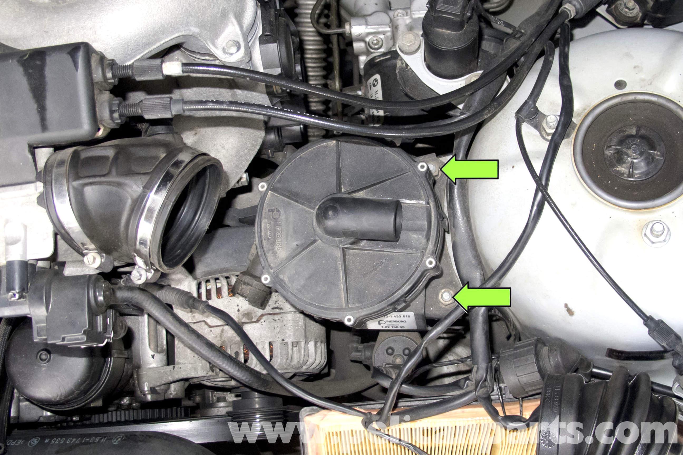 bmw z3 alternator replacement 1996 2002 pelican parts diy rh pelicanparts com 2003 BMW 325I Cooling System Diagram BMW M54 Coolant Flow Diagram
