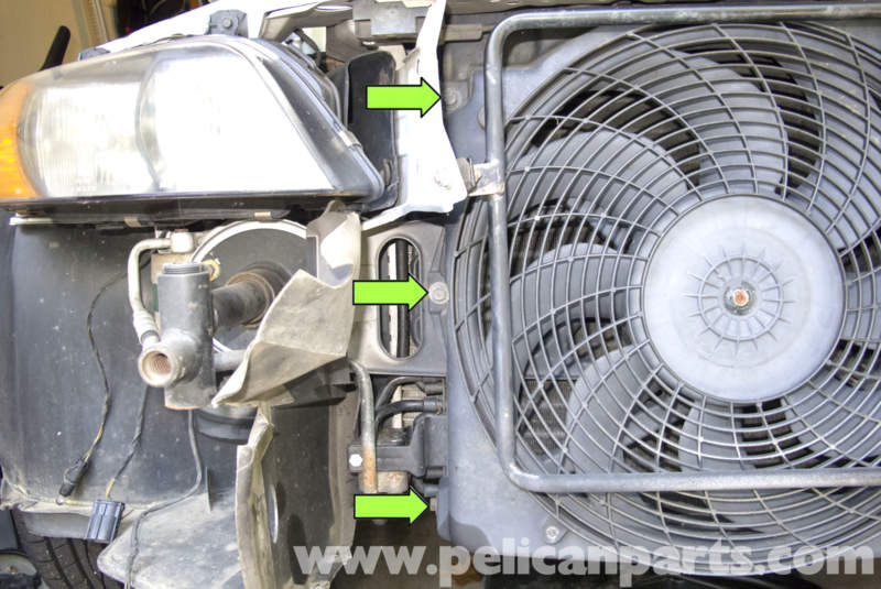 Bmw Z3 Cooling Fan Replacement 1996 2002 Pelican Parts