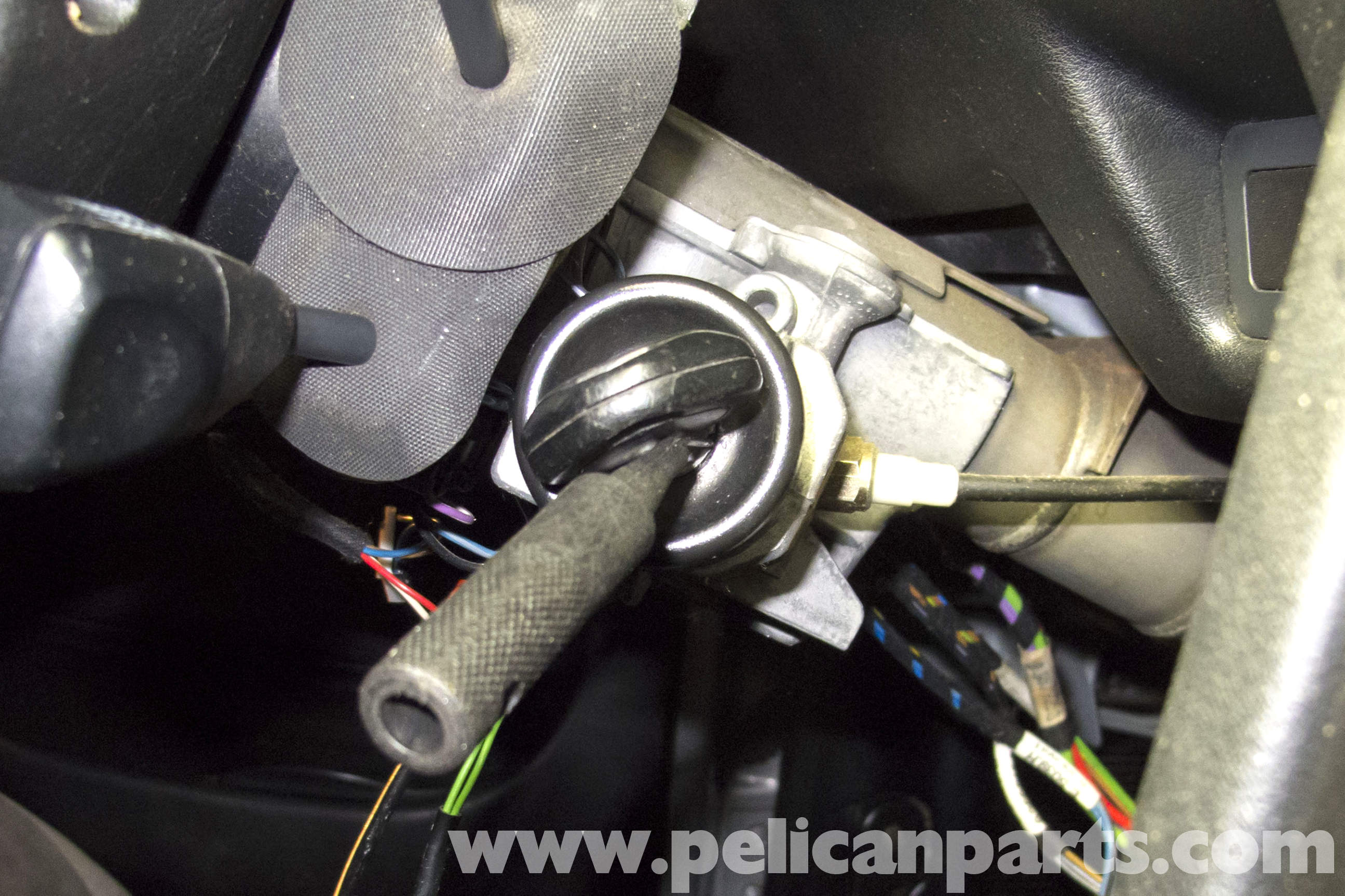 Details About 06 Bmw 325i 323i Ignition Switch Lock Housing With Key