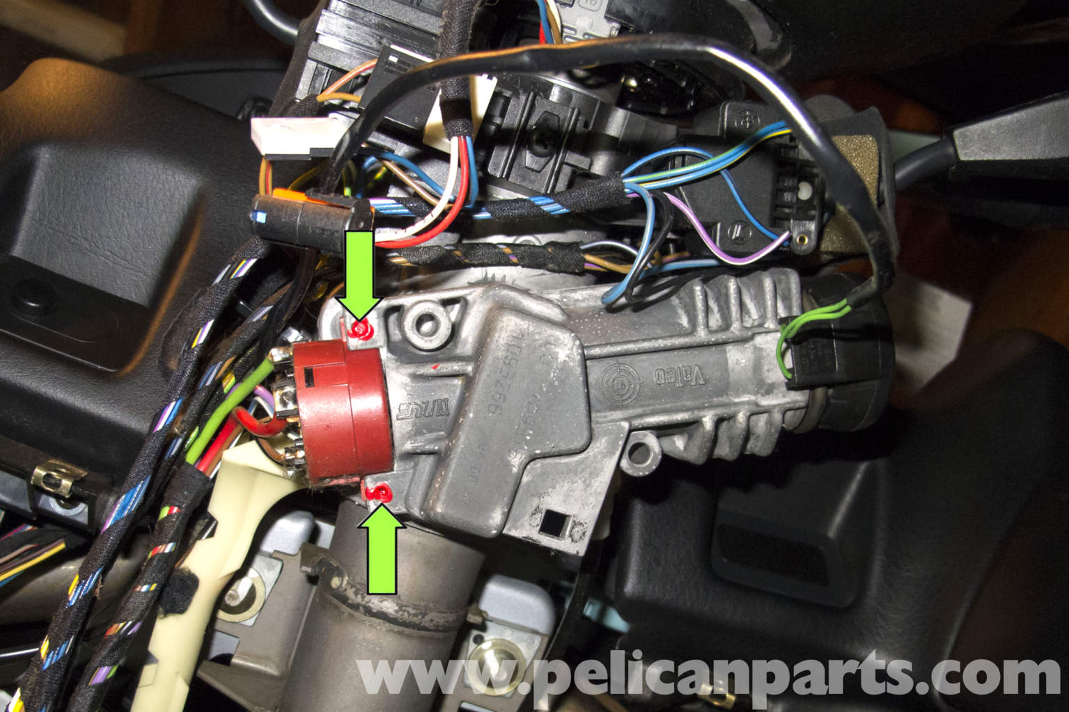 bmw ignition switch wiring diagram bmw z3 ignition switch replacement 1996 2002 pelican parts diy  bmw z3 ignition switch replacement