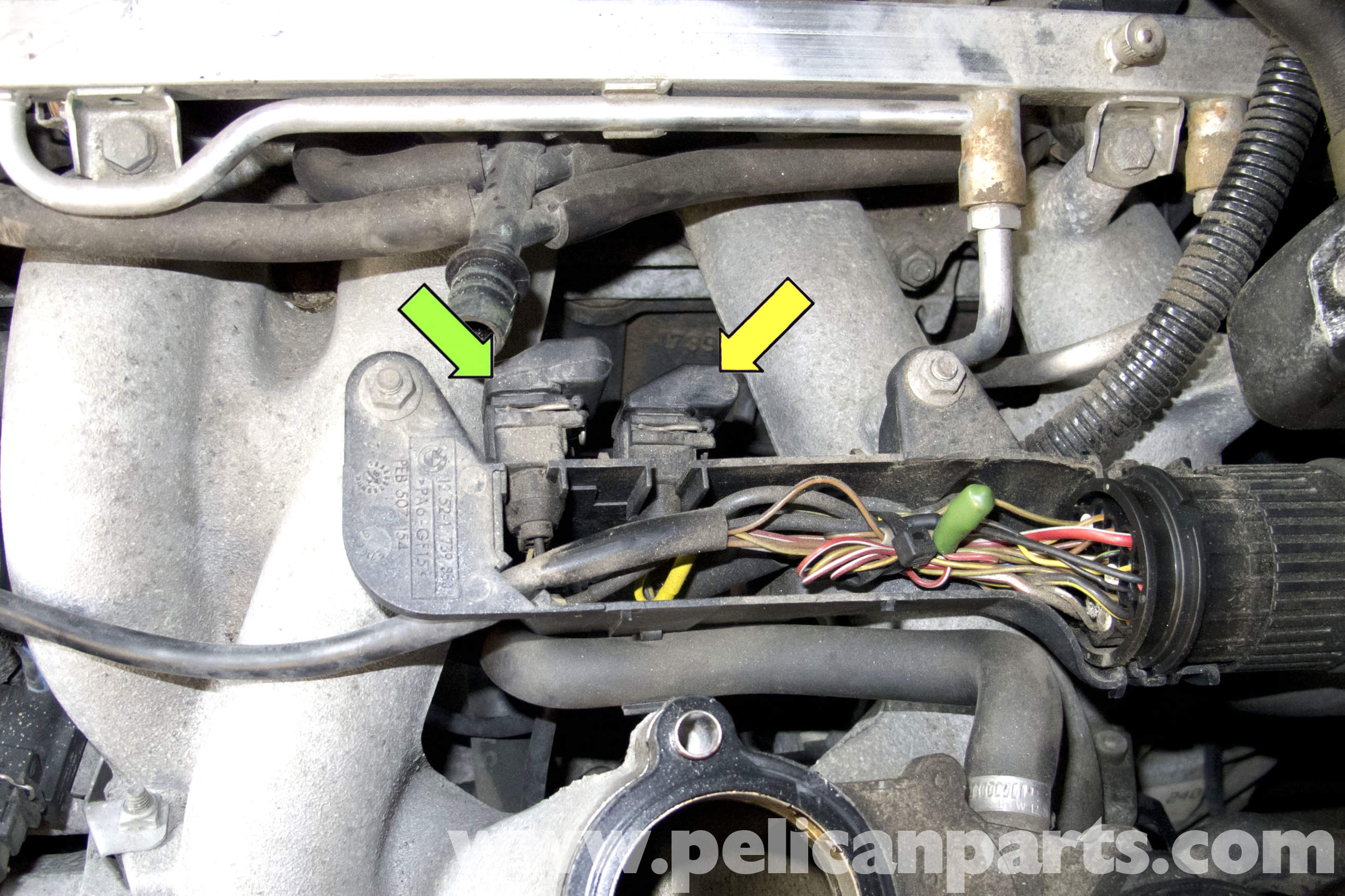 Bmw Z3 Camshaft Sensor Replacement 1996 2002 Pelican