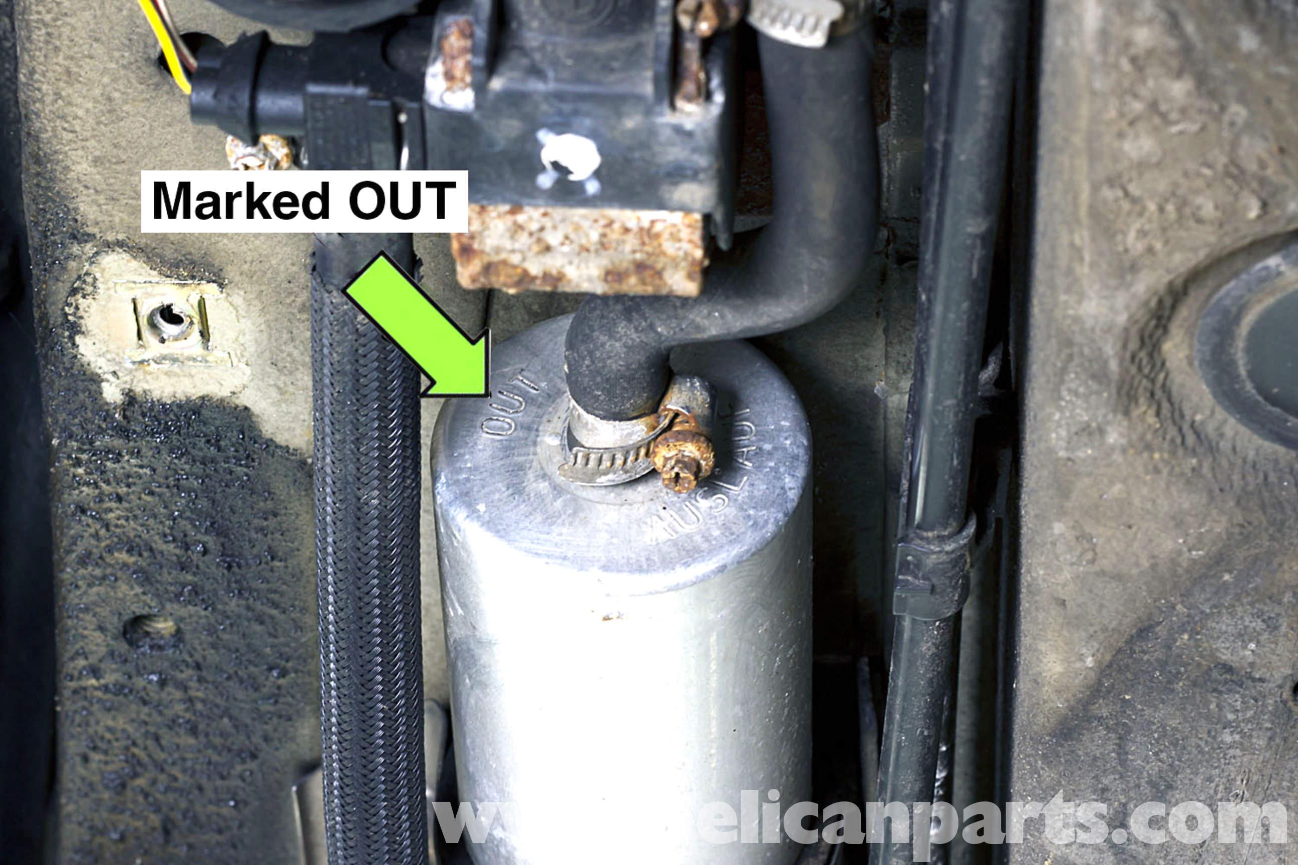 Bmw Z3 Fuel Pump Replacement 1996 2002 Pelican Parts Filter Location
