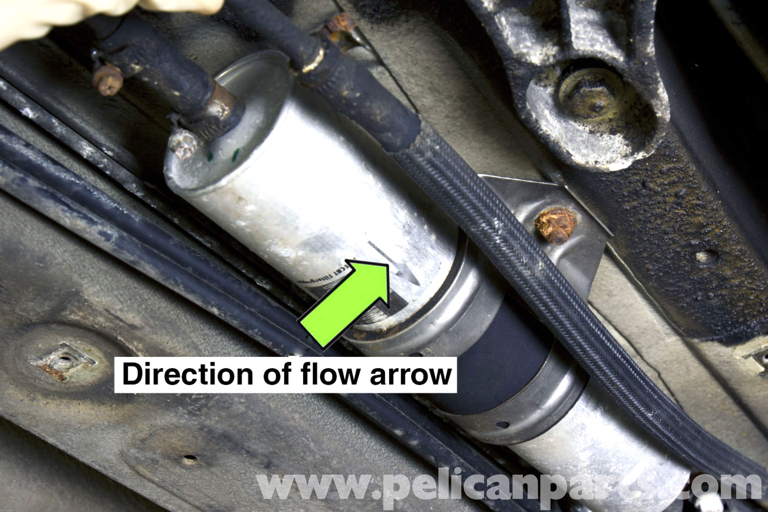 Bmw Z3 Fuel Filter Replacement 1996 2002 Pelican Parts Diy Small Engine Installation Large Image Extra