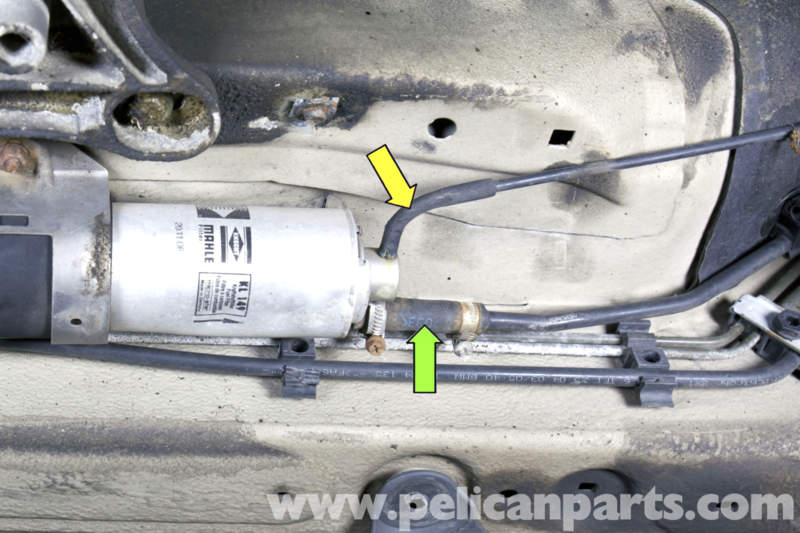 pic10 bmw z3 fuel filter replacement 1996 2002 pelican parts diy