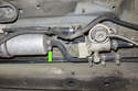 Early model fuel filters have a single outlet hose.