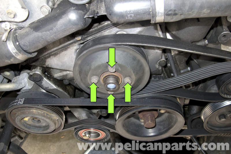 BMW    Z3 Water Pump Replacement   19962002   Pelican Parts DIY Maintenance Article