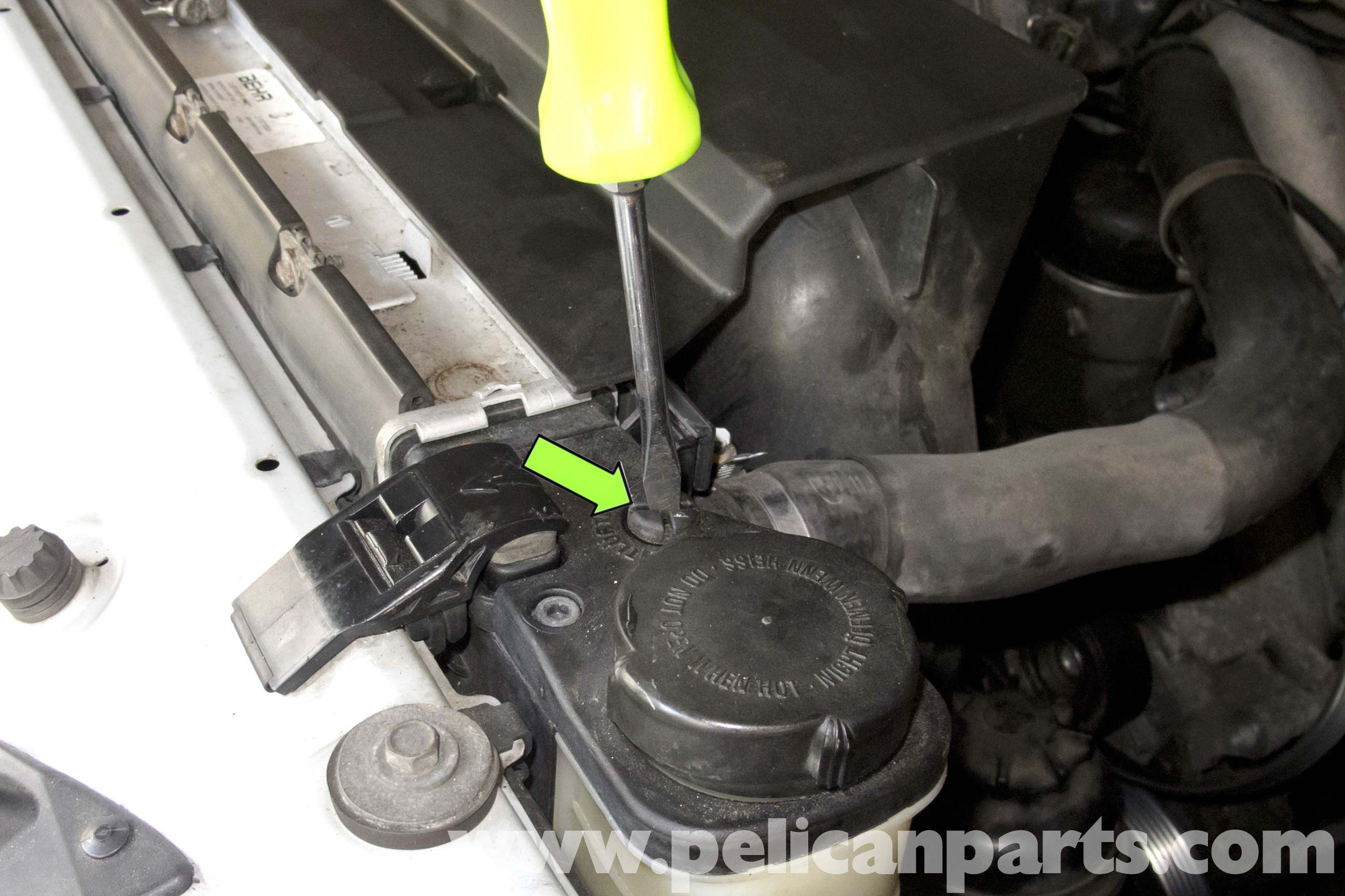 Bmw Z3 Draining And Filling Coolant 1996 2002 Pelican