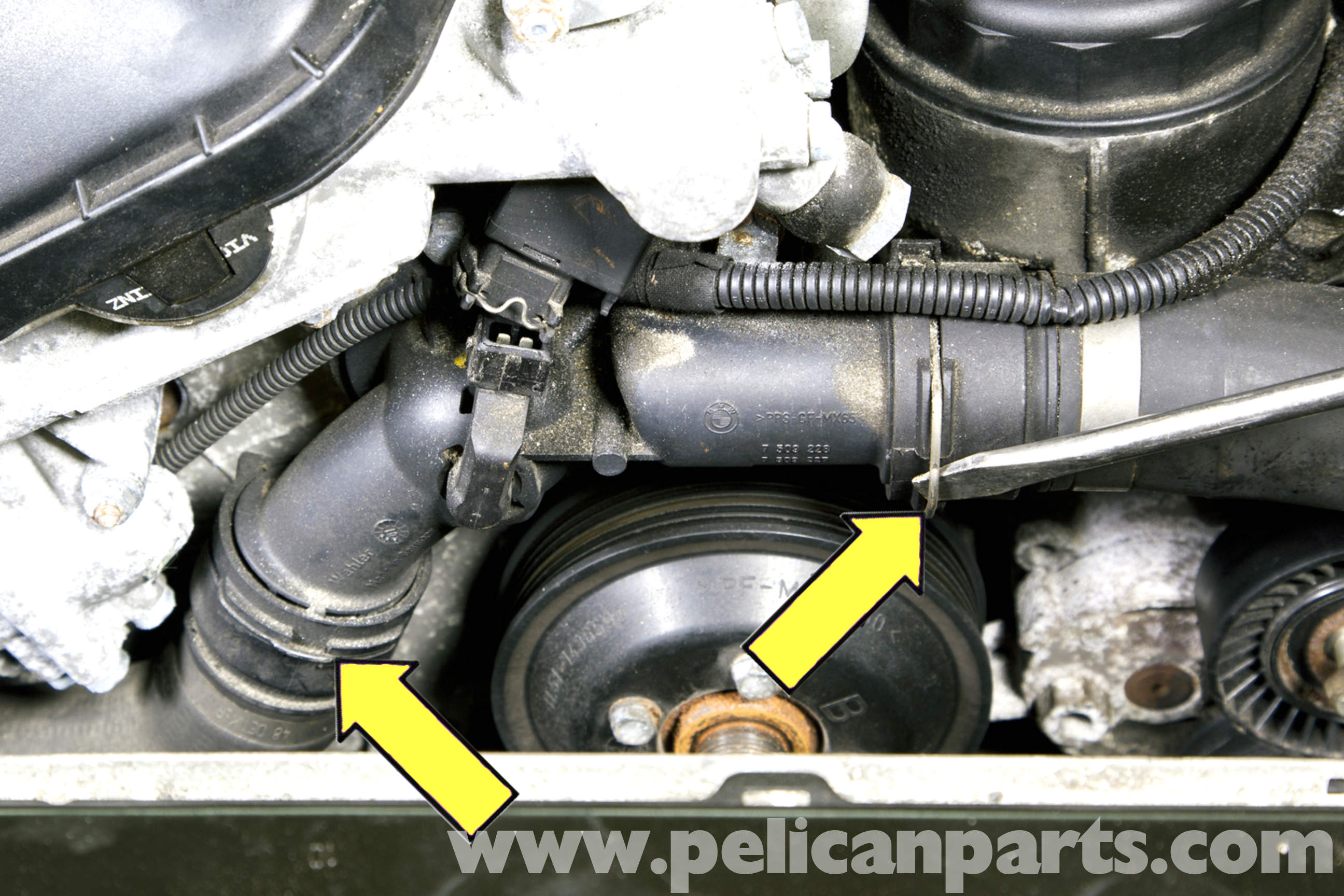 Bmw Z3 Thermostat Replacement 1996 2002 Pelican Parts