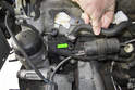 This photo shows the crankcase hose and how it can fail.
