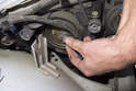 Low beam bulb: Next, rotate headlight bulb holder counterclockwise and remove from headlight assembly.