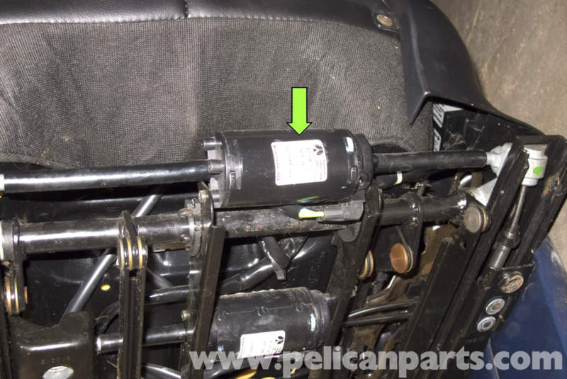 Bmw Z3 Front Seat Removing And Buckle Replacement 1996