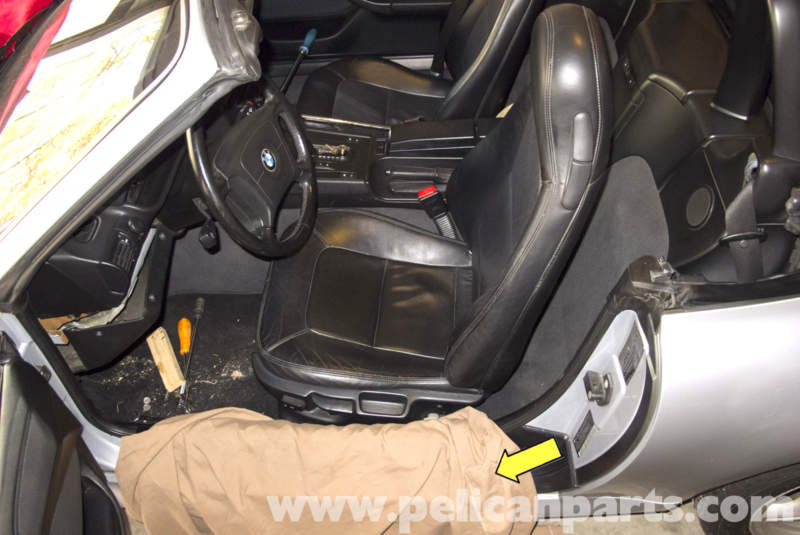 Bmw Z3 Front Seat Removing And Buckle Replacement 1996 2002 Pelican Parts Diy Maintenance