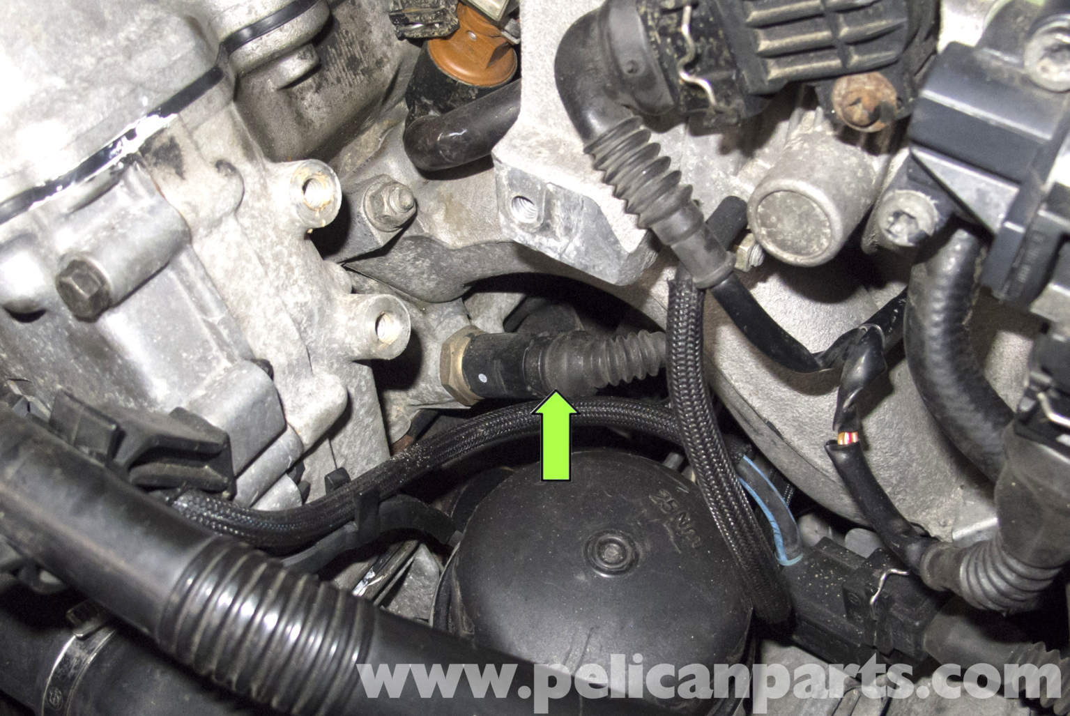 Bmw Z3 Coolant Temperature Sensor Testing And Replacement 1996 2002 Pelican Parts Diy