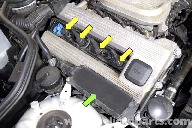 Bmw Z3 Spark Plug Ignition Wire And Coil Replacement
