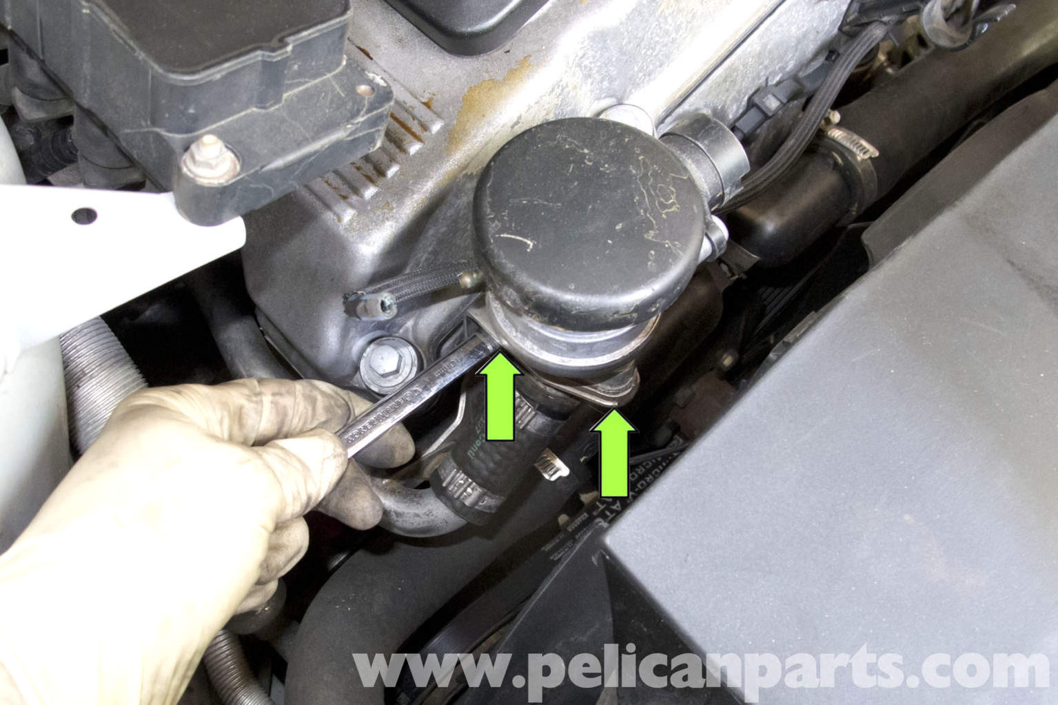 Bmw Z3 Secondary Air Components Replacement 1996 2002