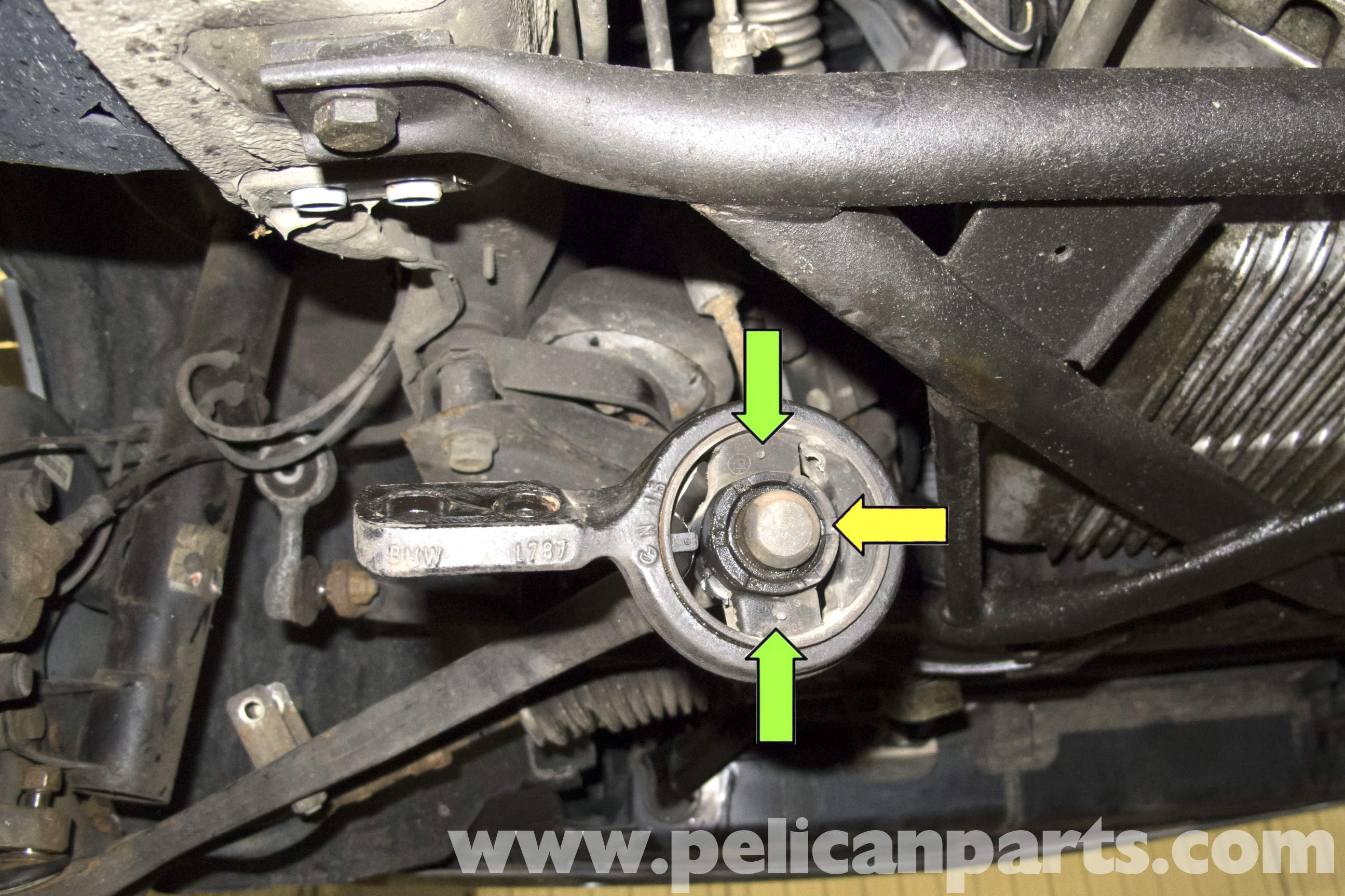 Bmw Z3 Front Control Arm Bushing Replacement 1996 2002
