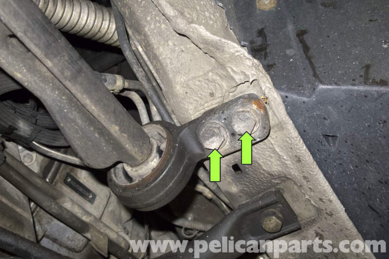 how to change trailing arm uplander 2008