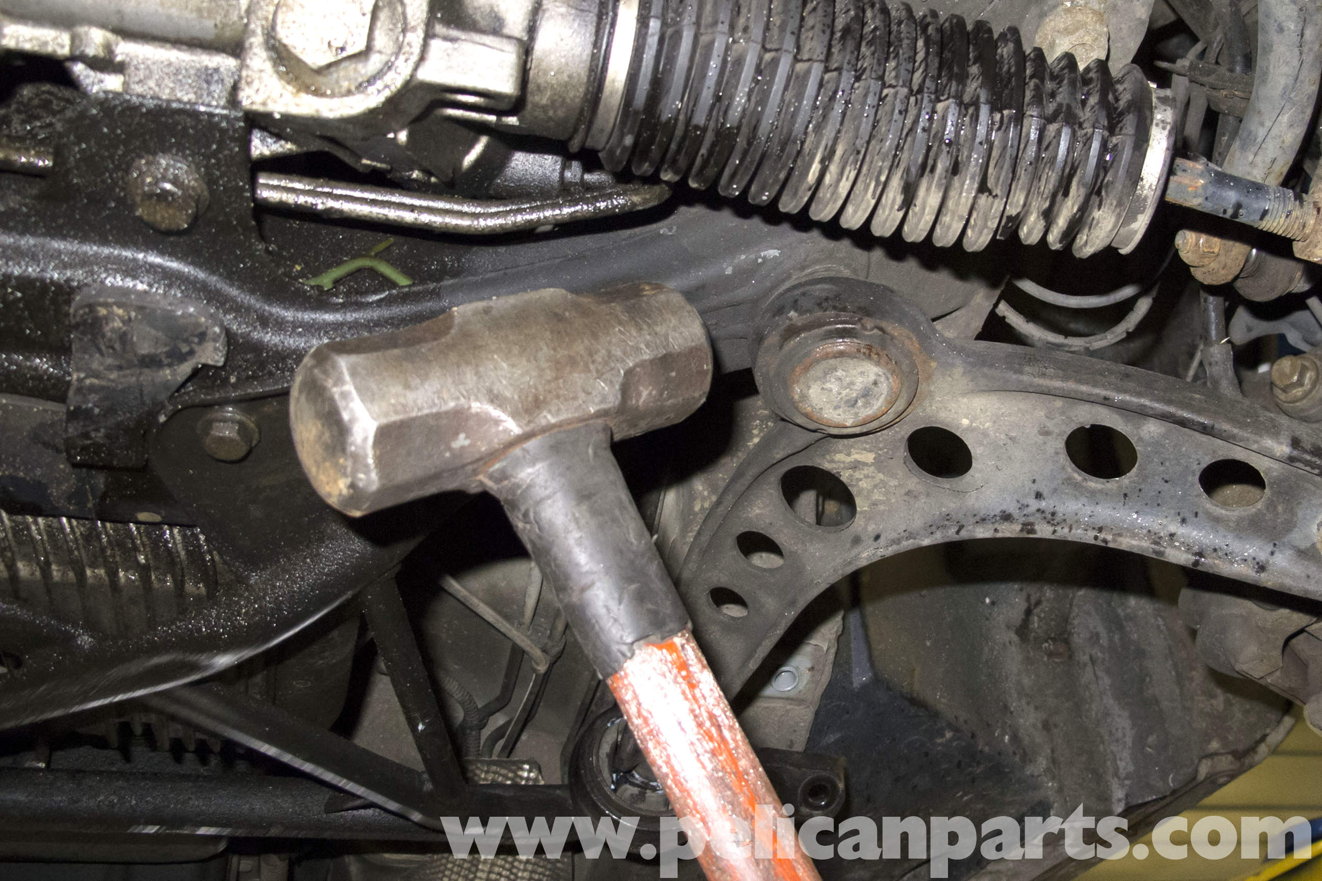 Bmw Z3 Front Control Arm Replacement 1996 2002 Pelican