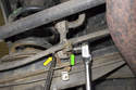 Rear sway bar links.