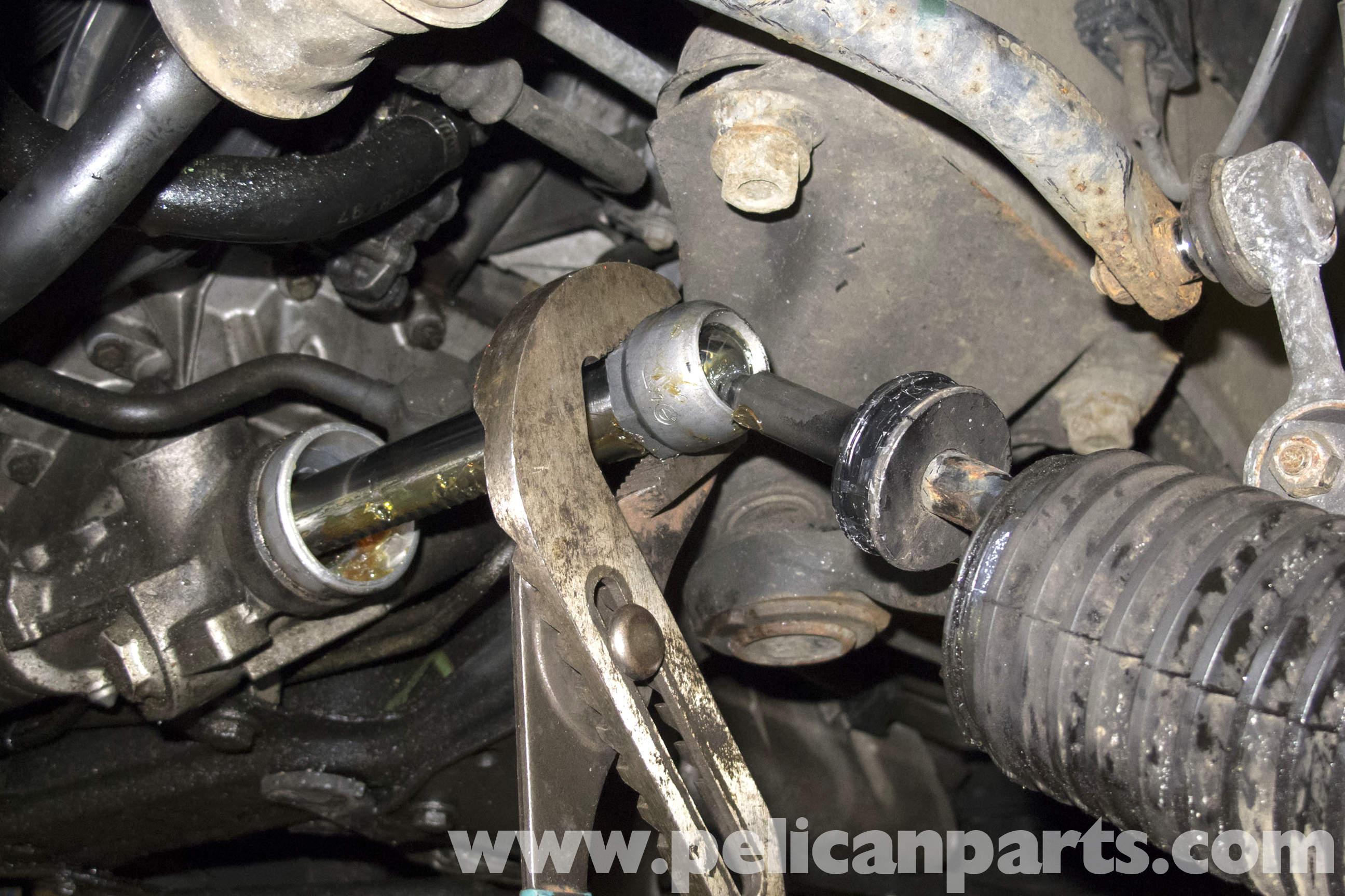 Bmw Z3 Tie Rod End Replacement 1996 2002 Pelican Parts