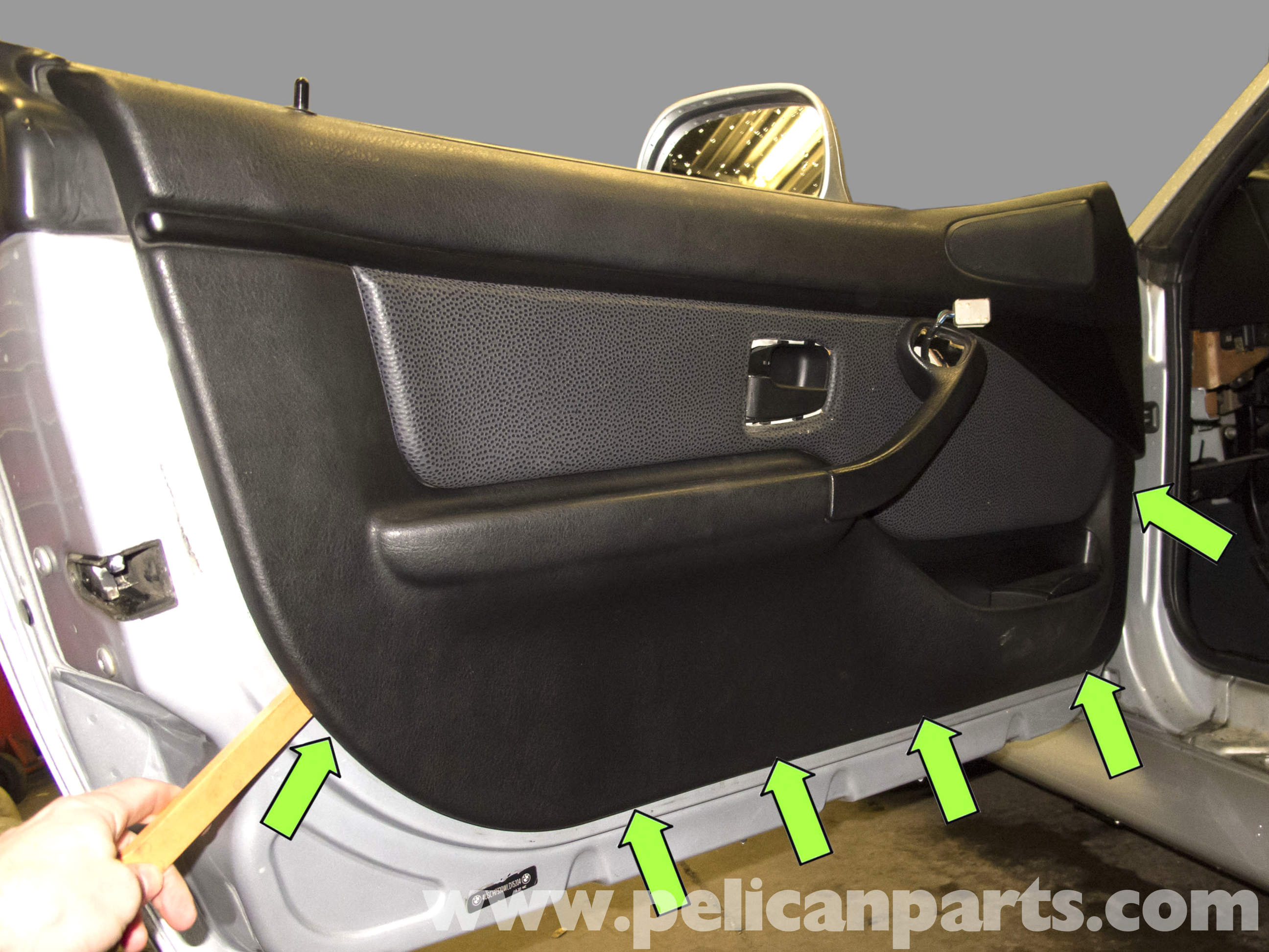 Bmw Z3 Door Panel Replacement 1996 2002 Pelican Parts Diy Maintenance Article