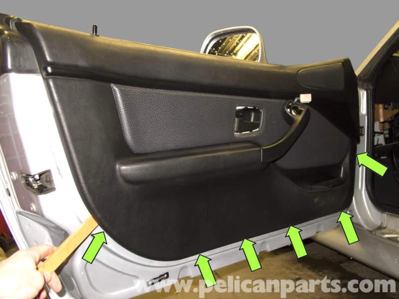bmw z3 door panel replacement 1996 2002 pelican parts diy maintenance art. Black Bedroom Furniture Sets. Home Design Ideas