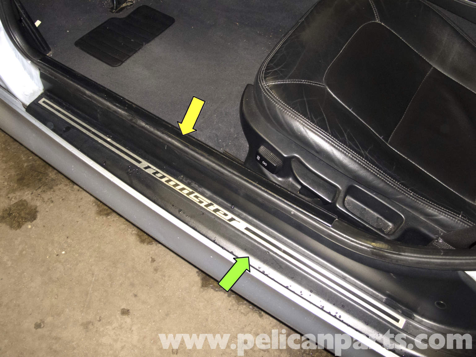 Bmw Z3 Door Sill Molding Replacement 1996 2002 Pelican