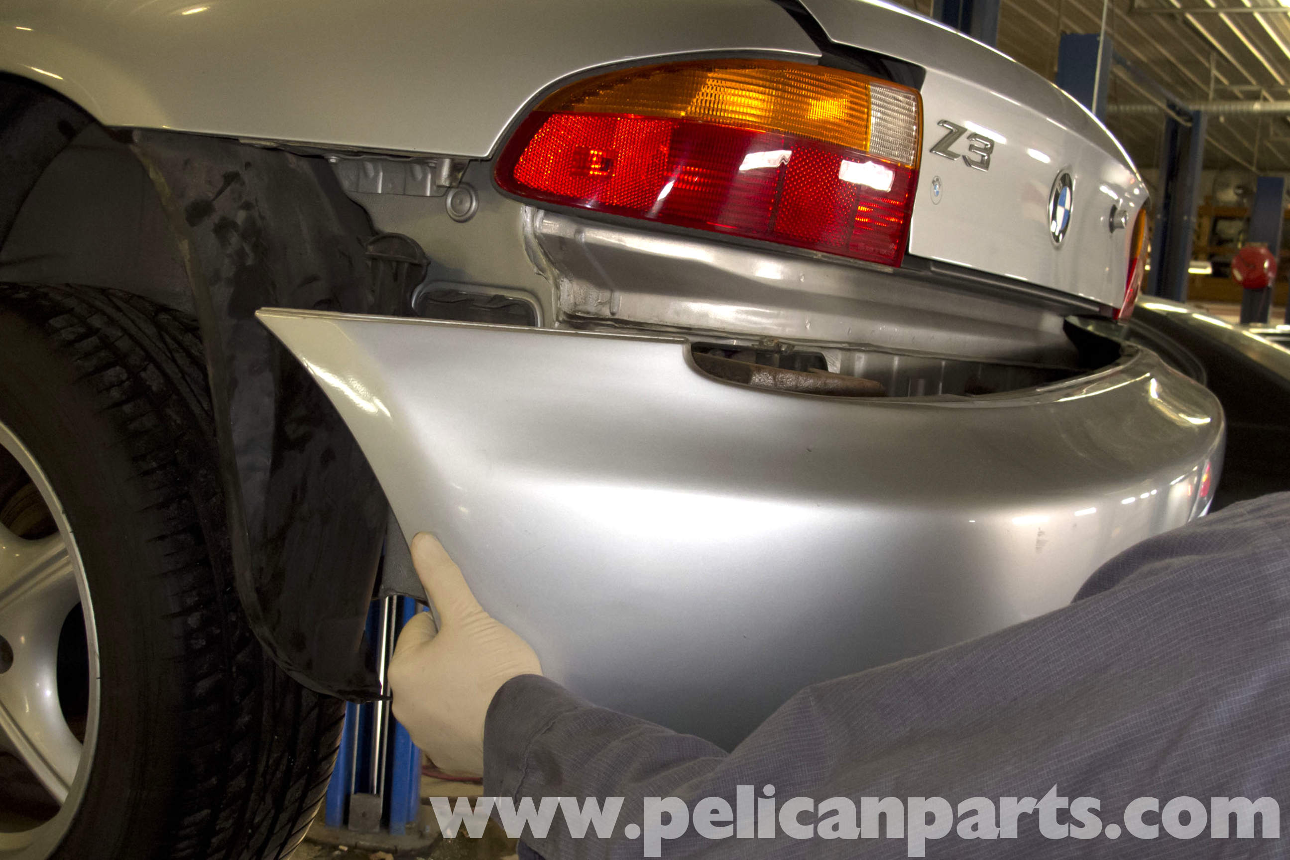 Bmw Z3 Rear Bumper Replacement 1996 2002 Pelican Parts