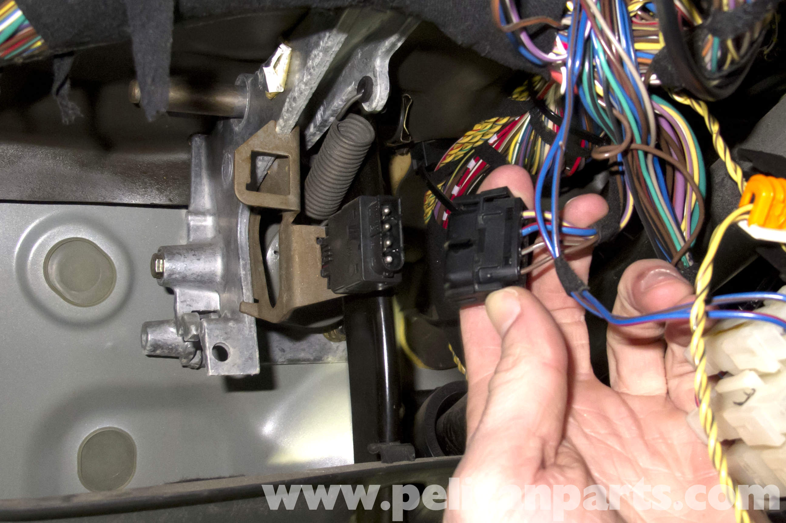 BMW Z3 Brake Light Switch Replacement | 1996-2002 | Pelican Parts ...