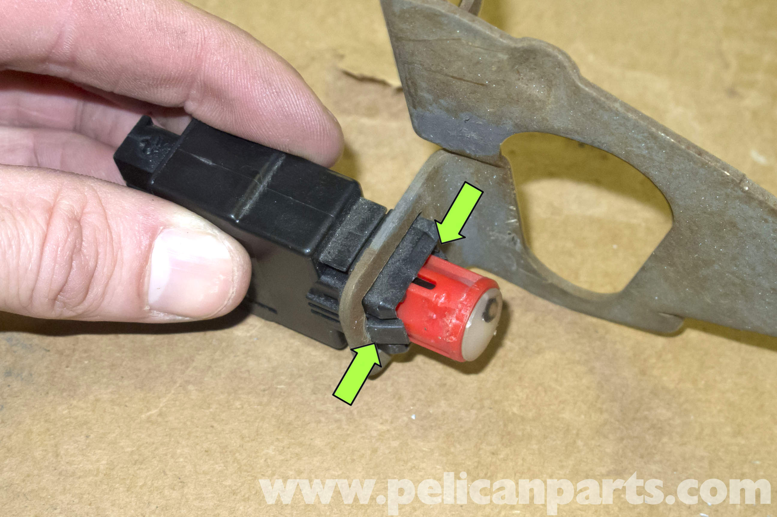 BMW Z3 Brake Light Switch Replacement | 1996-2002 | Pelican
