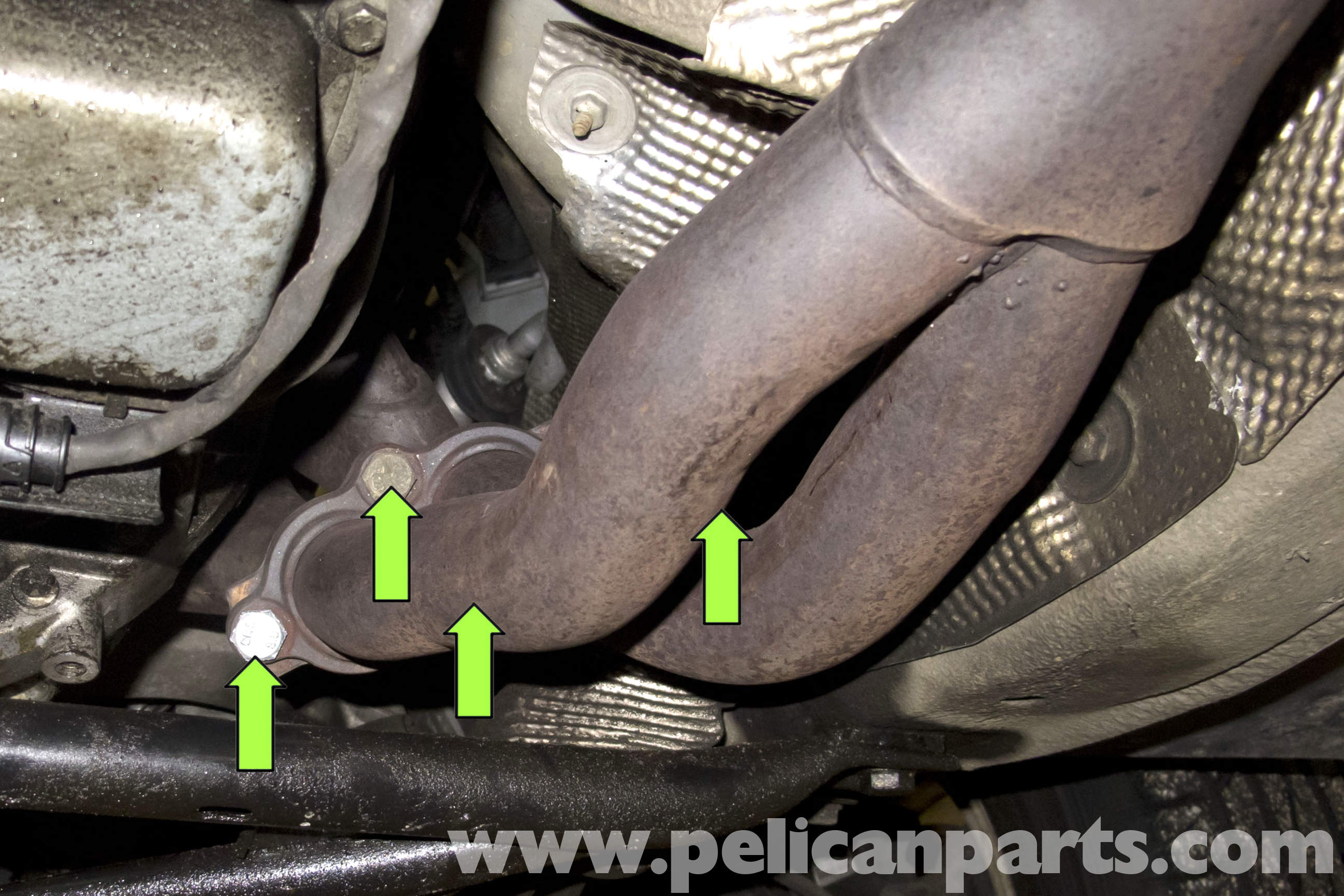 Bmw Z3 Exhaust System Replacement E36 1996 2002