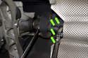 Working at transmission, remove six 16mm driveshaft flex-disc fasteners.