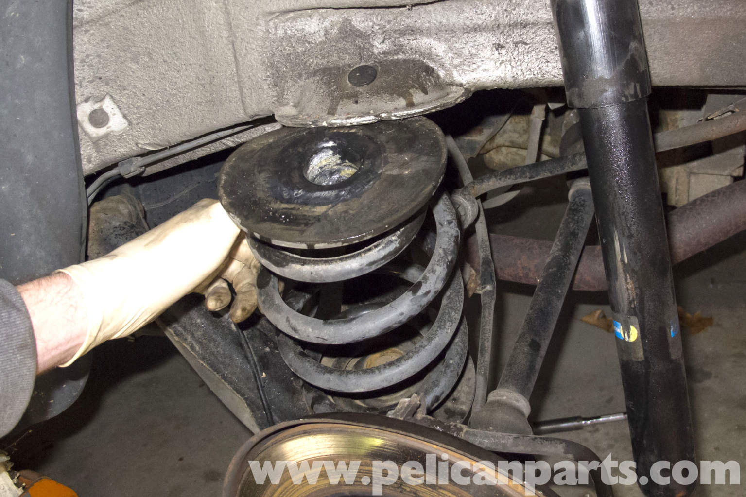 Bmw Z3 Rear Coil Spring Replacement E36 1996 2002