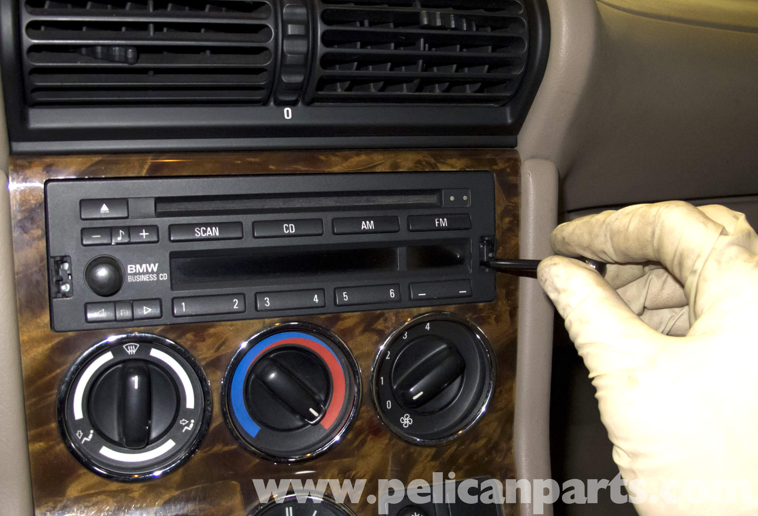 Bmw Z3 Radio Removal And Replacement 1996 2002 Pelican